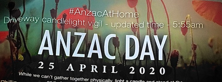My Anzac post