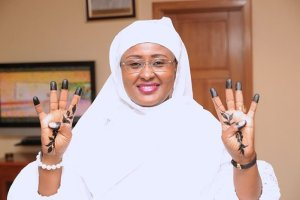 Aisha Buhari abuja wife woman