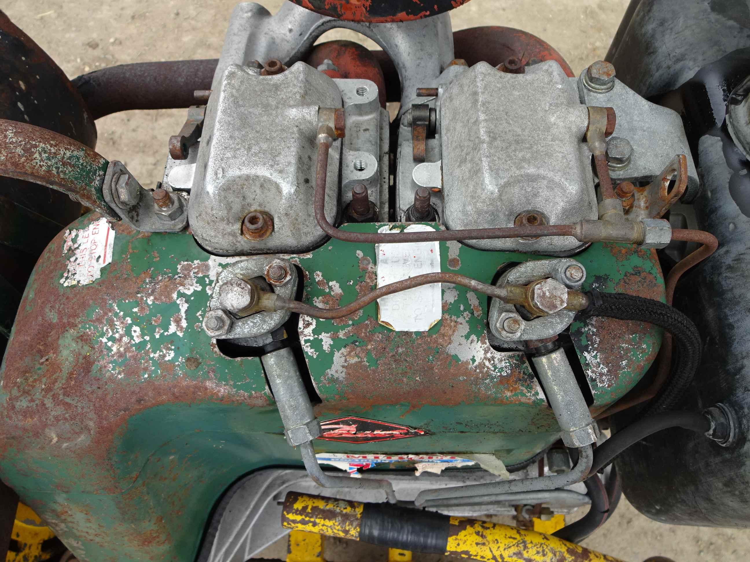 mighty midget welder generator set arc welder and 110v outlets