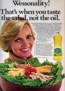 Florence Henderson acting as spokesperson for Wesson Oils