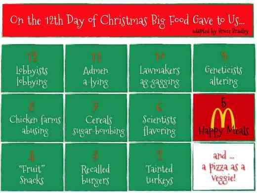 big foods 12 days of christmas - On The 12th Day Of Christmas