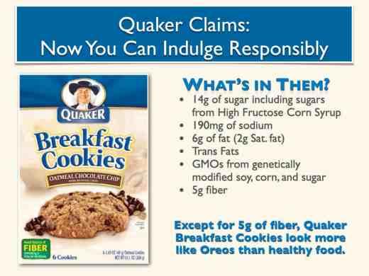 Quaker Breakfast Cookies