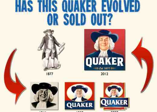 Quaker's Logo has evolved over time, but can you still trust their products?