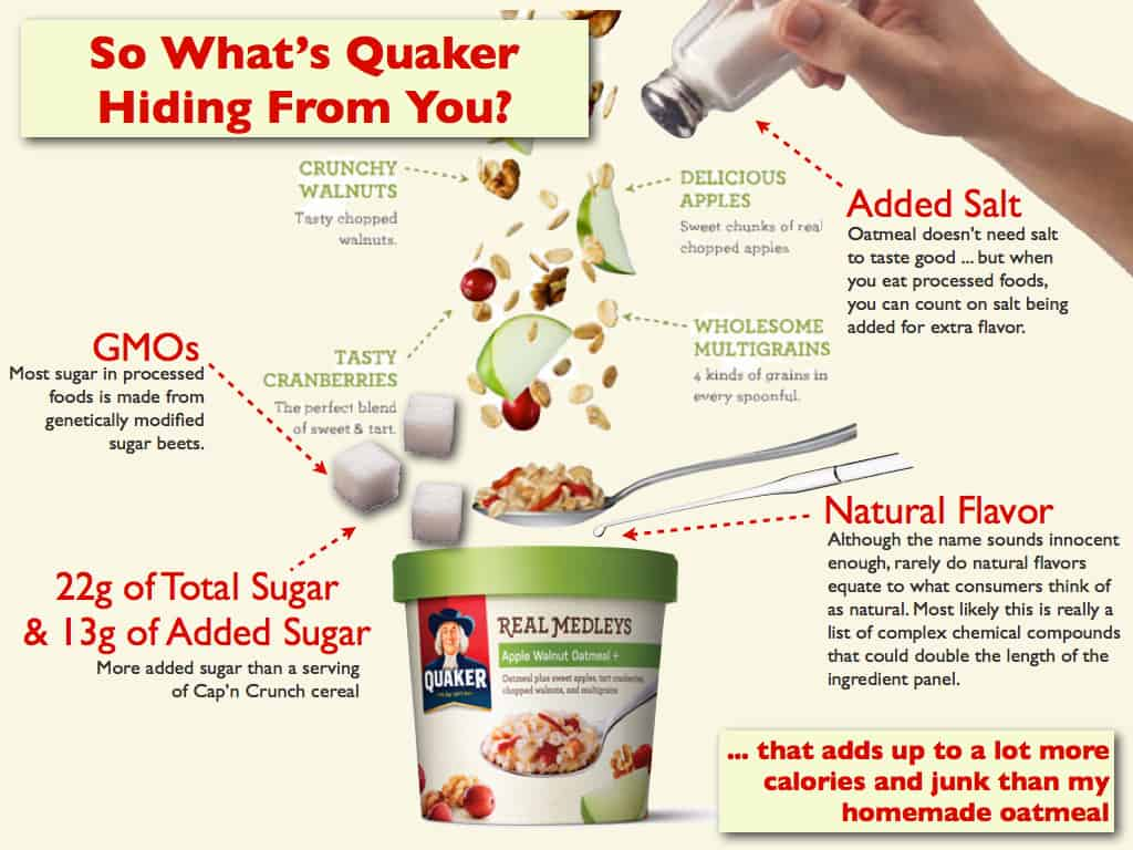 Are Quaker Oats New Real Medleys Oatmeal Truly Healthy?