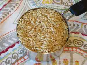 Whole grain brown rice is a very versatile real whole grain, making it a great one to have on hand and ready to serve.