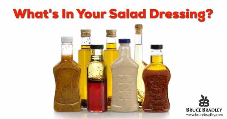 Bottled salad dressing ingredients are all over the place. Learn what's In Your Bottled Oil and Vinegar Salad Dressing and 4 tips to choosing a healthier option.