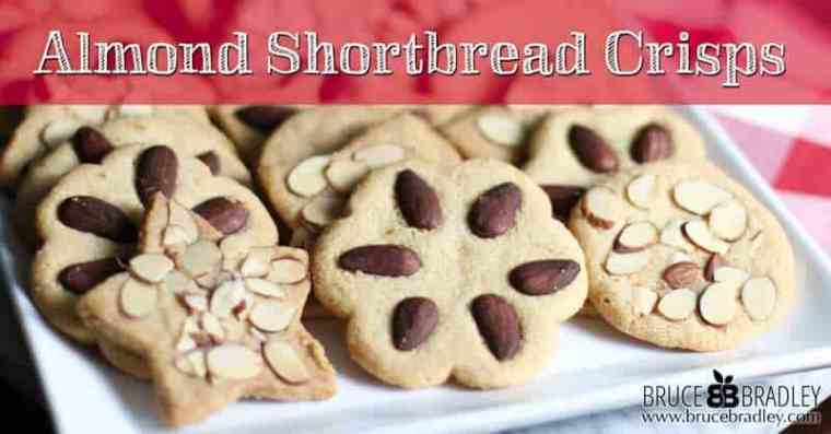 Almond Shortbread Cookie Crisps are a delicious twist on traditional shortbread cookies, and they'e perfect for the holidays, special occasions, or to share as a gift!