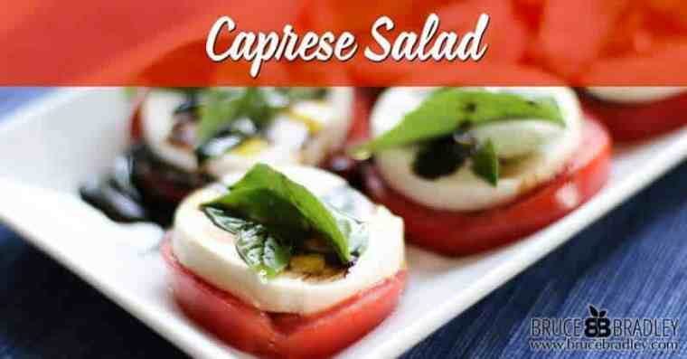 A Caprese Salad is one of the easiest, most delicious salads you can make. Here's my classic recipe to help you get started!