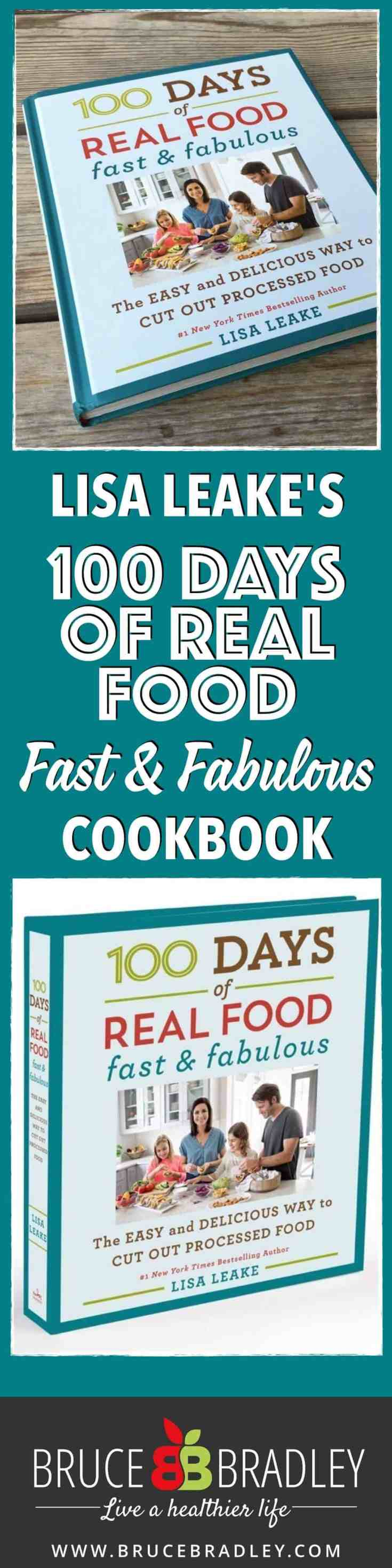 100 Days of Real Food Fast and Fabulous Cookbook is filled with over 100 quick-and-easy recipes and simple cheat sheets to help your family eat real food without derailing your busy life. With simple recipes for breakfast, lunch, dinner, snacks, and special treats, you truly can't go wrong with this cookbook.