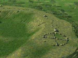 Mullumbimby stone circles as they once stood. (Image credit: Richard Patterson)