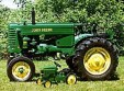 1996 1950 John Deere model M farm tractor Winner - Greg Cameron, Allenford, ON