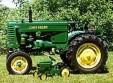 1996 1950 John Deere model M farm tractor Winner - Greg Cameron, Allenford, ON