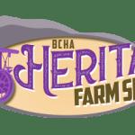 BCHA Heritage Farm Show Logo