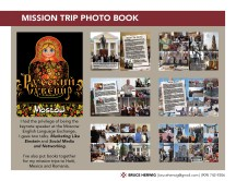 Mission Trip Photo Book