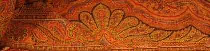 colorful paisley shawl