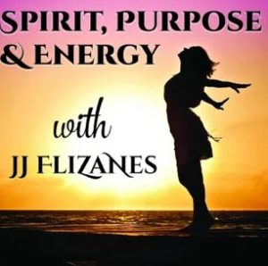 Logo from the Spirit, Purpose & Energy podcast