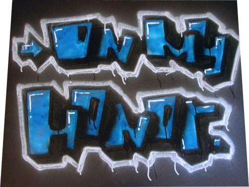 On My Honor Graffiti
