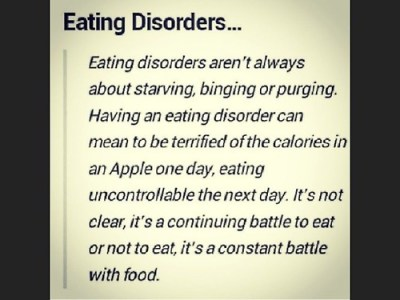 eating disorder constant battle