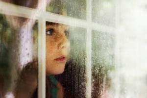 hope girl in window