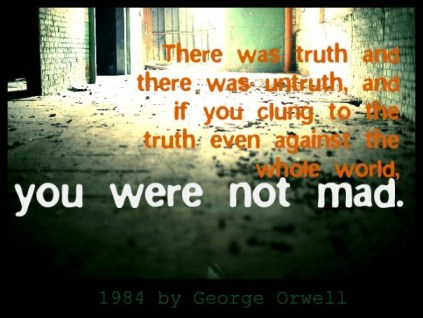 truth cling to 1984