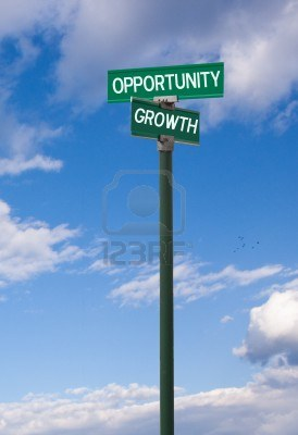 truth the-intersection-of-opportunity--personal-growth-street-sign