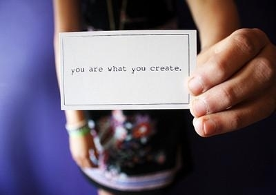 create you are what
