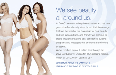 dove women beauty