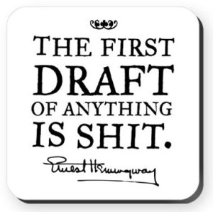 writing the first-draft