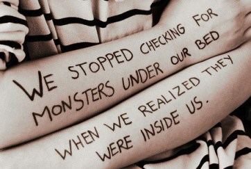 growing up monsters