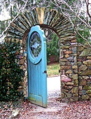 blue gate open