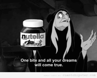 nutella witch