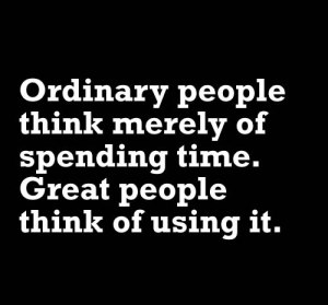 time ordinary people