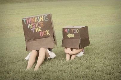 brainstorming box people