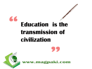 education civilization