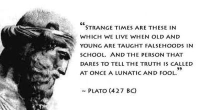 truth revolutionary lunatic