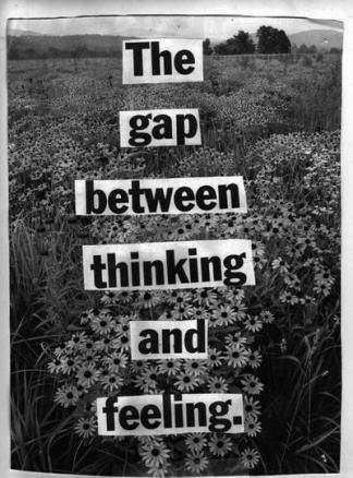 few thinking and feeling