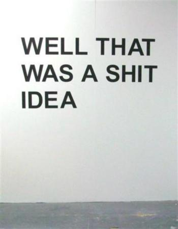 idea shit