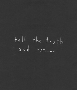 tell the truth run