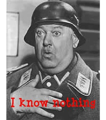 I know nothing schultz
