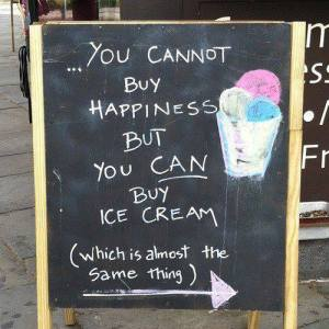 choice happiness ice cream