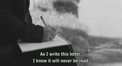 letters to myself never read