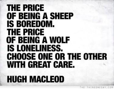 work sheep wolf