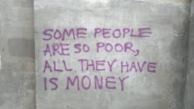 capitalism and poor but money