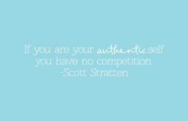 compete Authentic Self