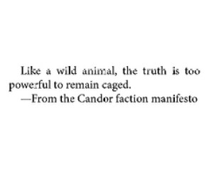 dauntless truth caged