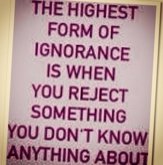 ignorance highest form