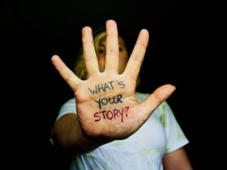 story on hand