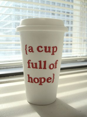 hope cup of