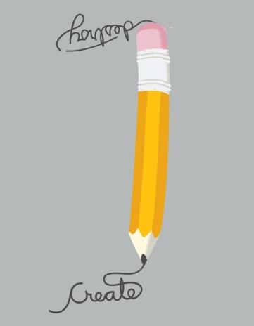 create destroy pencil
