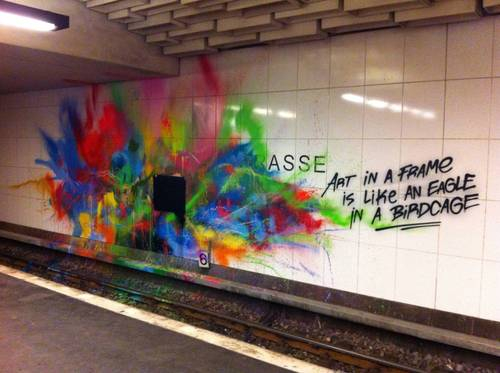 graffiti art frame